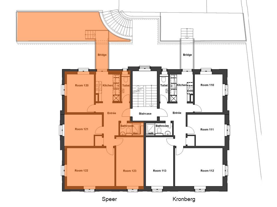 Wohnung Speer Grundriss