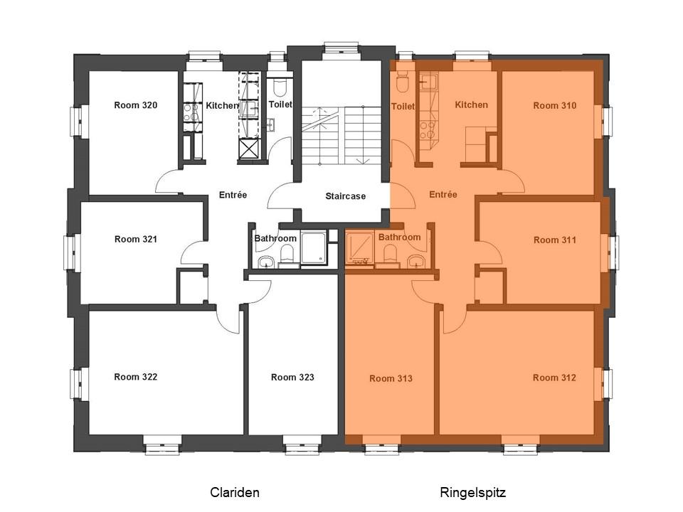 Wohnung Ringelspitz Grundriss