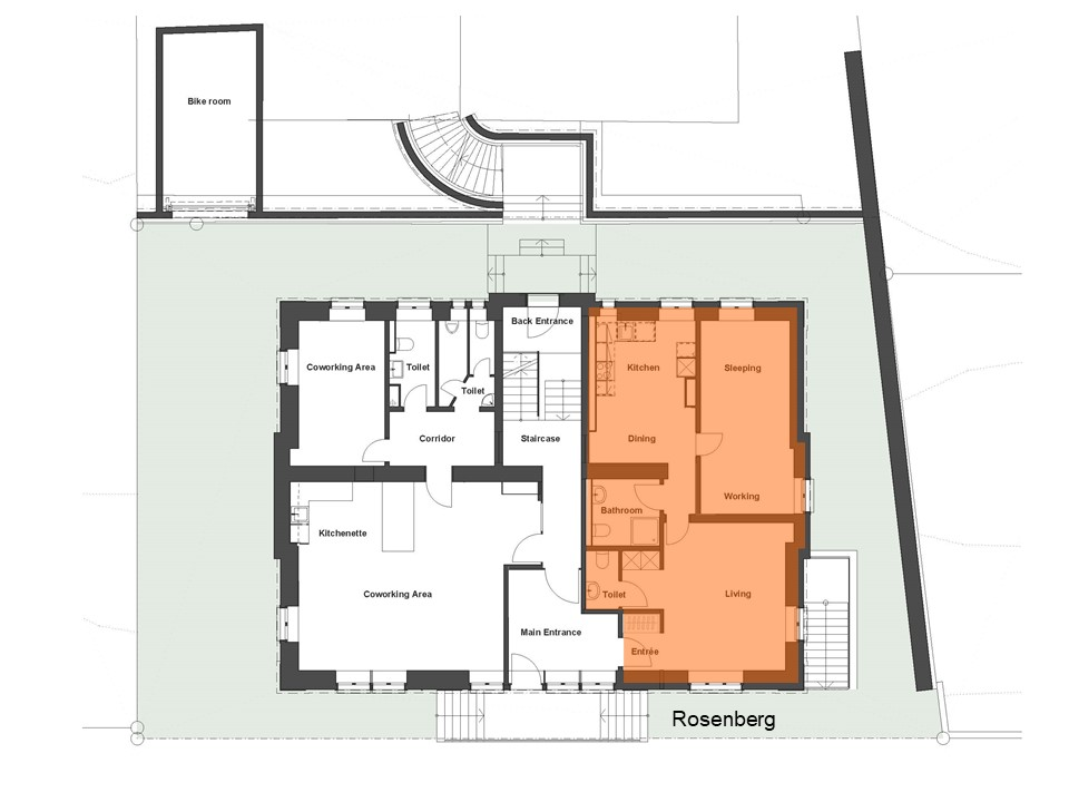 Wohnung Rosenberg Grundriss